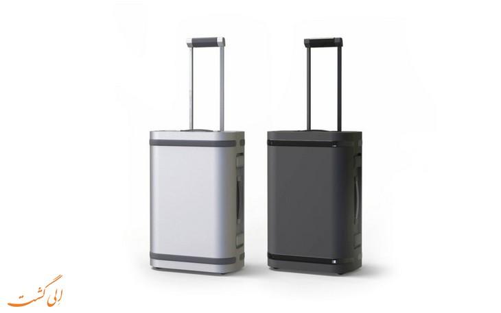 چمدان آلمینیومی