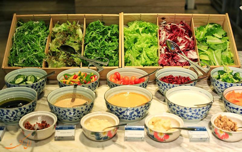 غذاهای هتل شرایتون شانگهای هونگکو