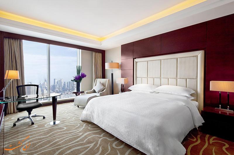 اتاق های هتل شرایتون شانگهای هونگکو