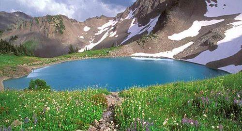 زیباترین دریاچه ایران