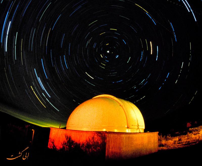 دره چاکو در شب