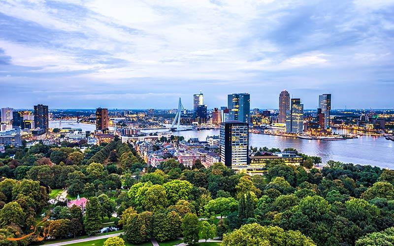 یکی از شهرهای هلند