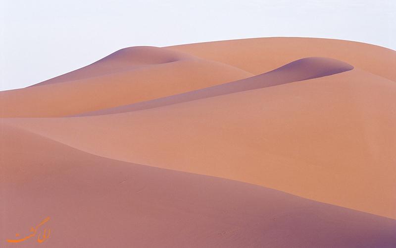 بیابان نارنجی مراکش