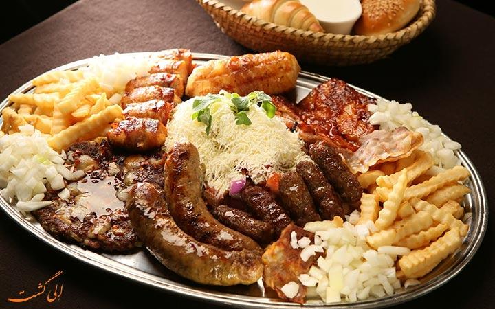 غذای صربستانی