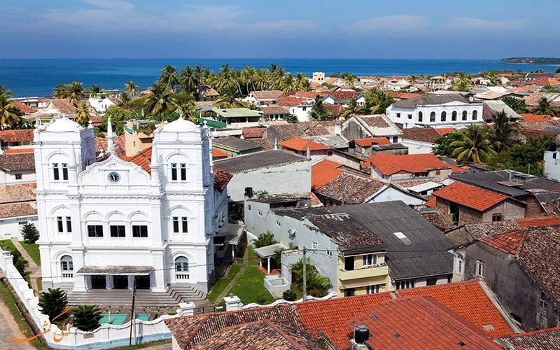 شهر توریستی سریلانکا