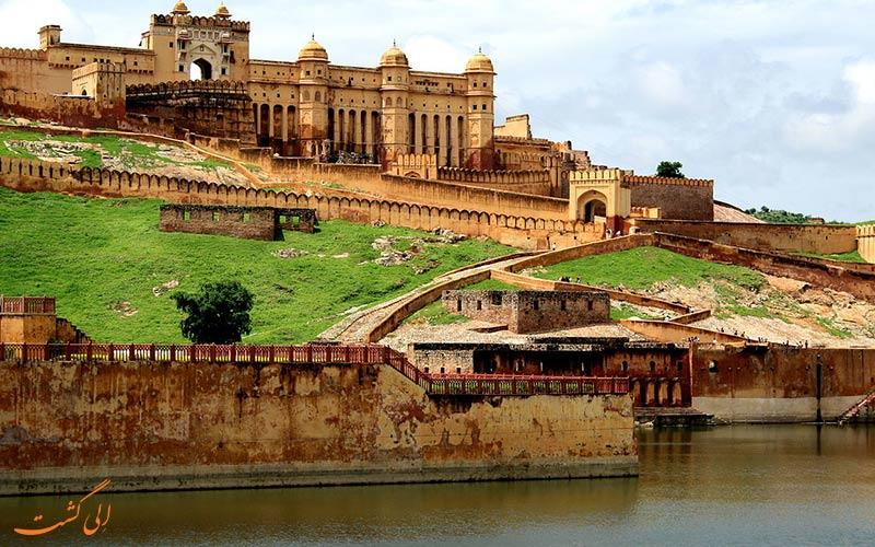 جیپور-قلعه امبر-سفر 5 روزه به هند