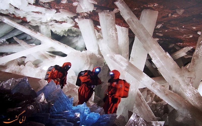 غار عجیب در مکزیک