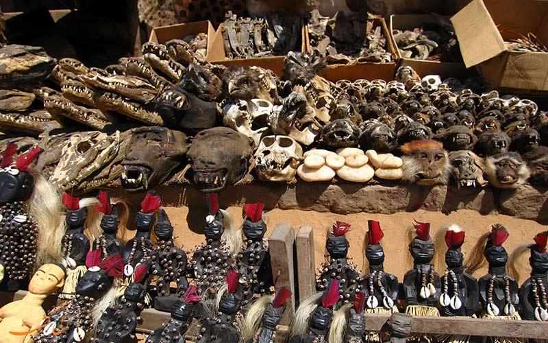 بازار توگو در آفریقا