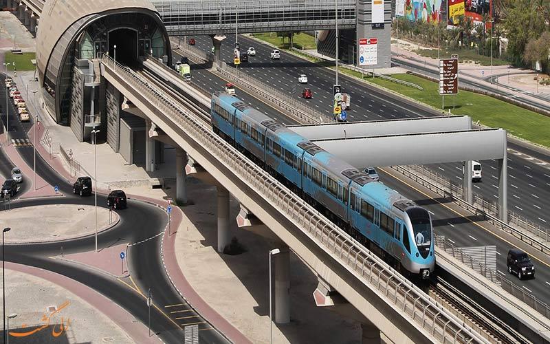 متروی فرودگاه دبی