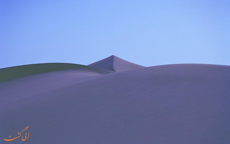 تغییر رنگ بیابان های مراکش