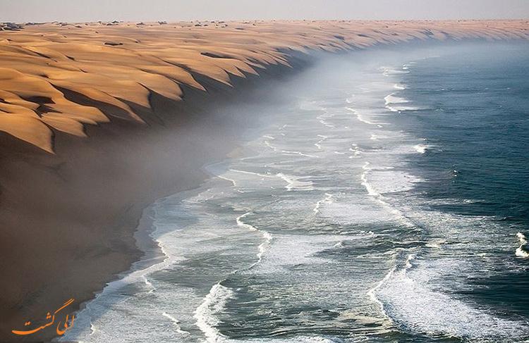 صحرای نامیب در آفریقا