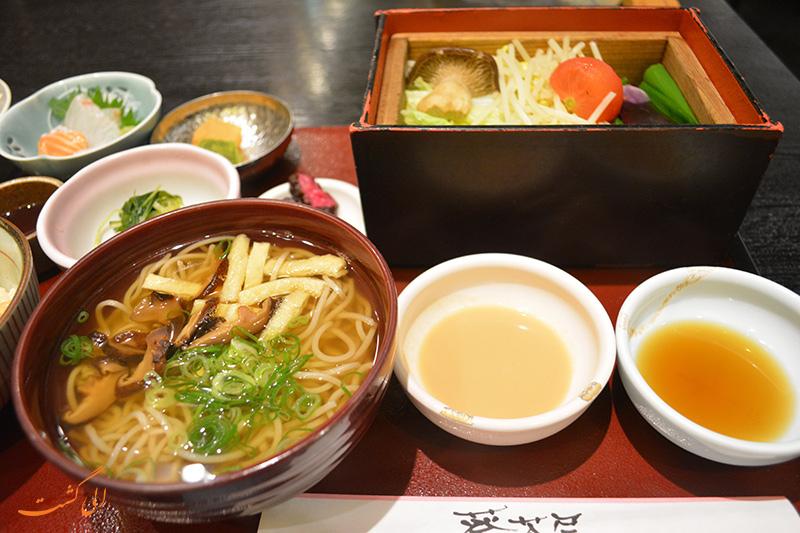 غذای رستوران هاروکوما