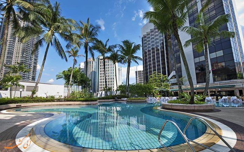 استخر هتل گرند میلینیوم در مالزی
