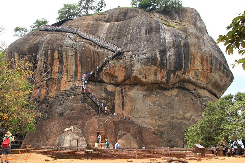 قلعه سیگیریا در سریلانکا