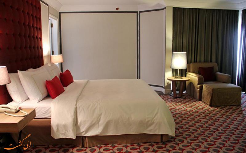 اتاق هتل گرند میلینیوم در مالزی