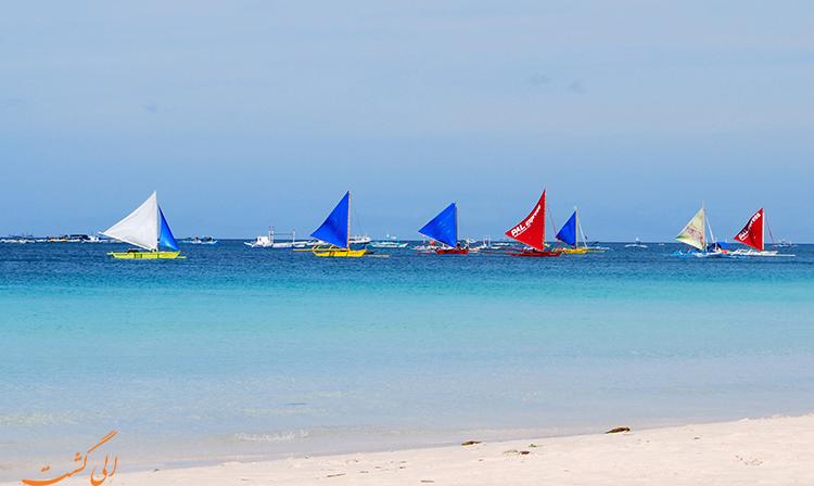 قایق سواری | ماجراجویی در فیلیپین