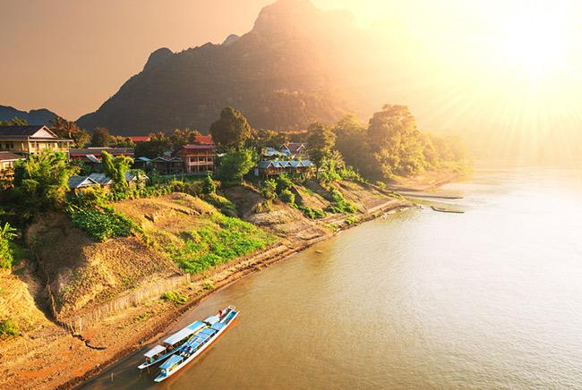 رودخانه های لائوس