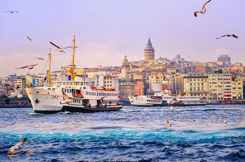 تور استانبول الی گشت