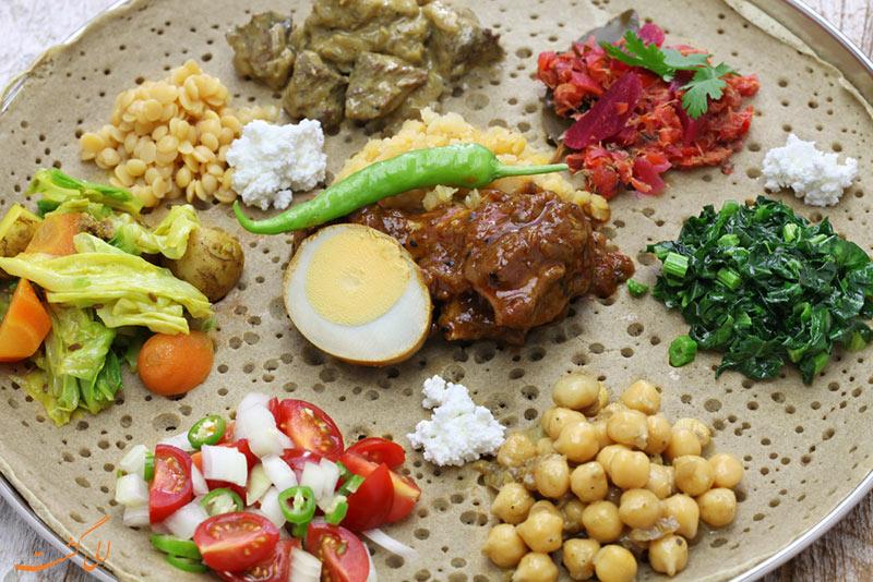 غذاهای اتیوپیایی