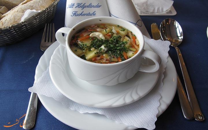 سوپ مارماهی
