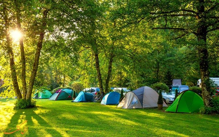 چادر های کمپ