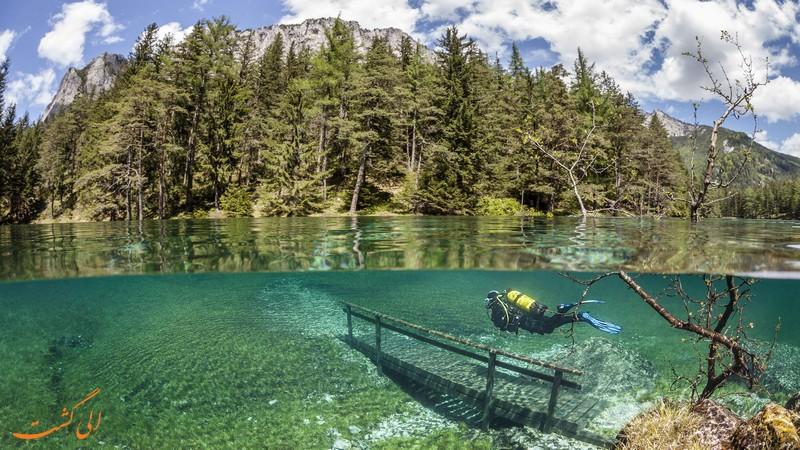 دریاچه گرین در اتریش
