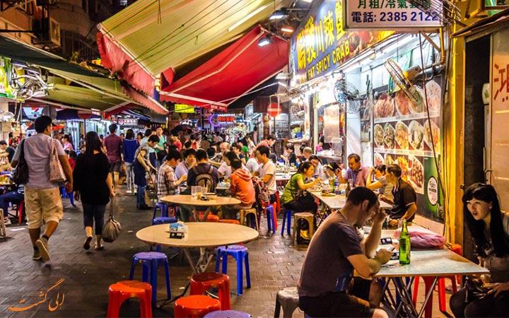 غذاهای خیابانی آسیا