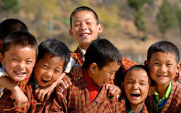 کودکان کشور بوتان