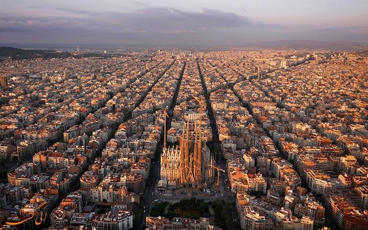 معماری شهری بارسلونا