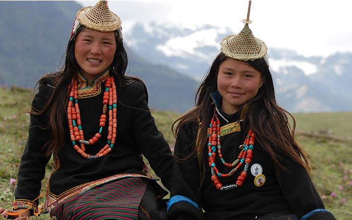 مردم بوتان آسیا