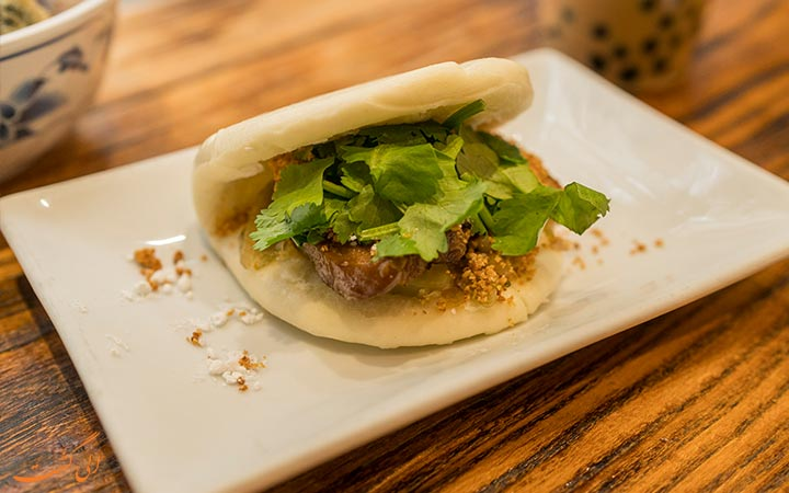 همبرگر تایوانی
