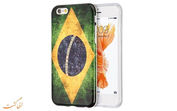 قاب موبایل با طرح برزیلی