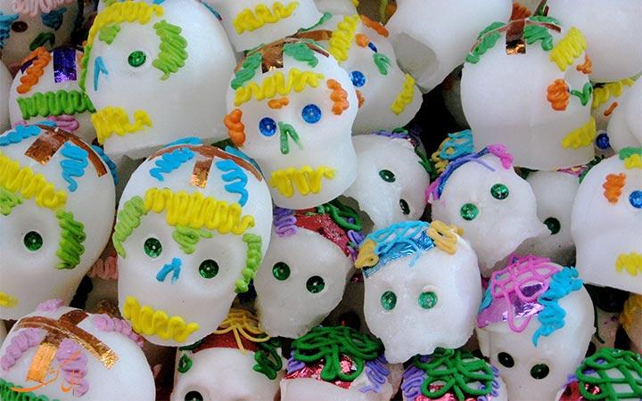 اسکت قندی در جشن مکزیک