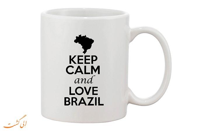ماگ با طرح برزیلی