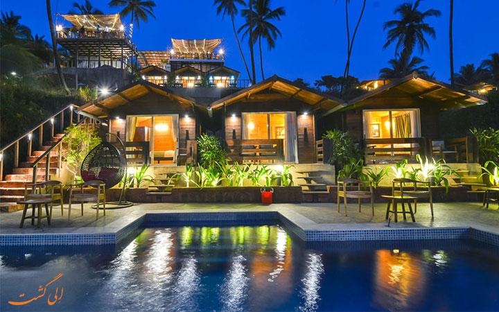 هتل در گوا