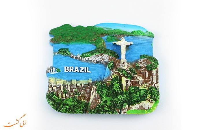 مگنت یخچال برزیلی