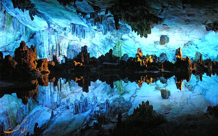 داخل غار گلوورم