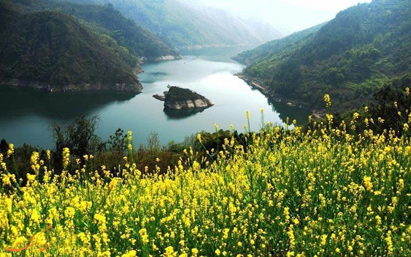 جزیره زیبای چین