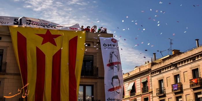 همه پرسی در کاتالونیا