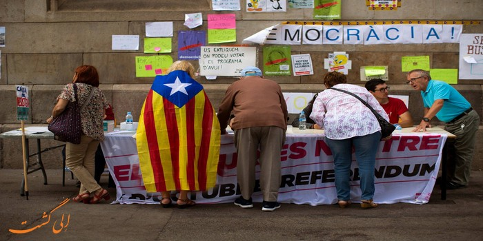 رفراندوم در کاتالونیا