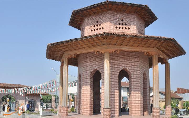 آرامگاه میرزا کوچک خان جنگلی
