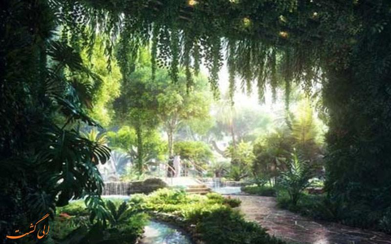 جنگل استوایی هتل دبی