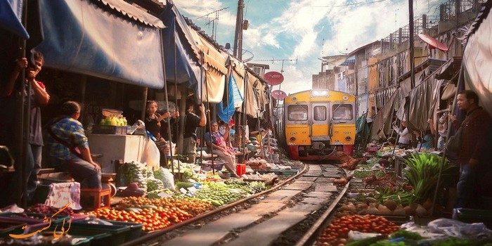 بازار خطرناک در تایلند
