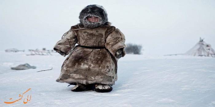 سرمای زیر 40 درجه در سیبری
