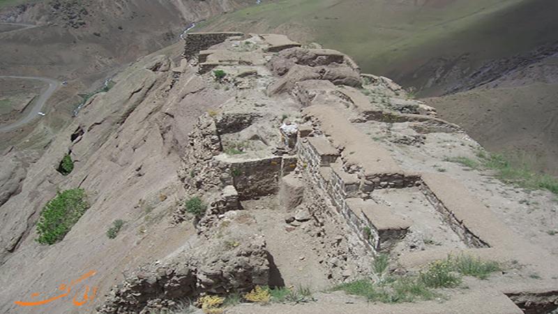 عکس قلعه الموت در قزوین