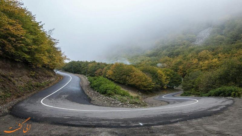جاده جنگلی ارسباران