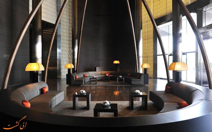 طراحی هتل آرمانی