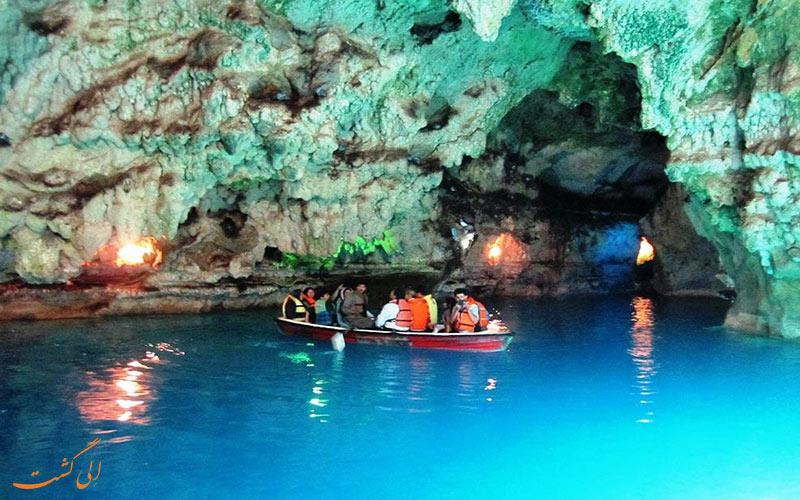 غار آبی سهولان
