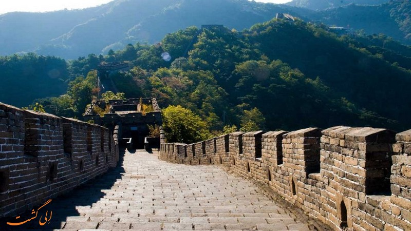 قسمت Mutianyu دیوار چین