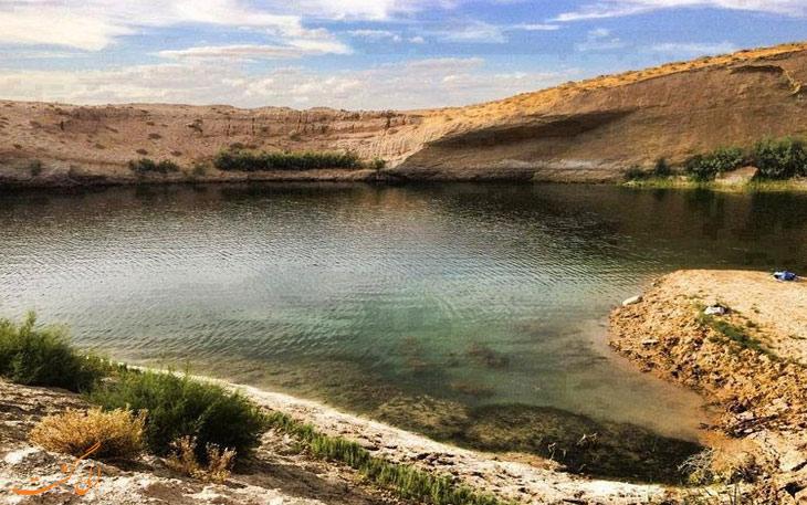 دریاچه عجیب تونس